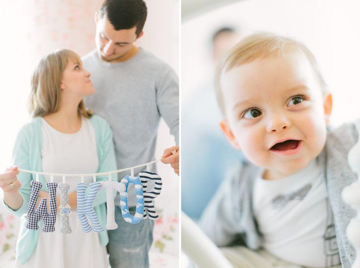 Rodzina i dziecko w sesji zdjęciowej w LIRYKA Atelier