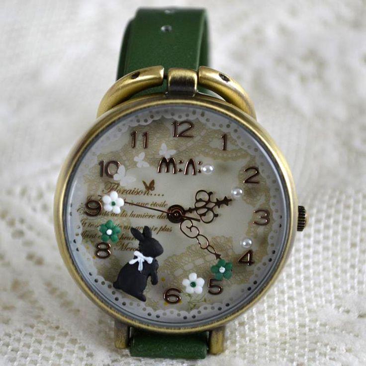 MINI hodinky - Zajíček
