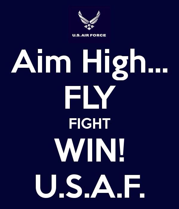 Fly, fight, win! @ashleighdaviss this will become a favorite mantra said.