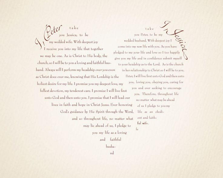 Wedding Vows Non Traditional Examples