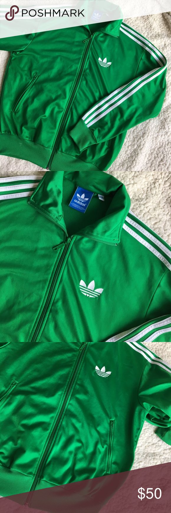 Adidas Originals Firebird Track Jacket Gently worn about a handful of times. This is a Men's size Small can also fit a women's medium/large. adidas Jackets & Coats