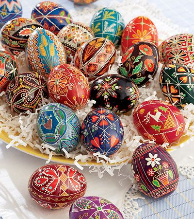 This is an awesome egg decorating kit.  You can spend hours making the most beautiful eggs!