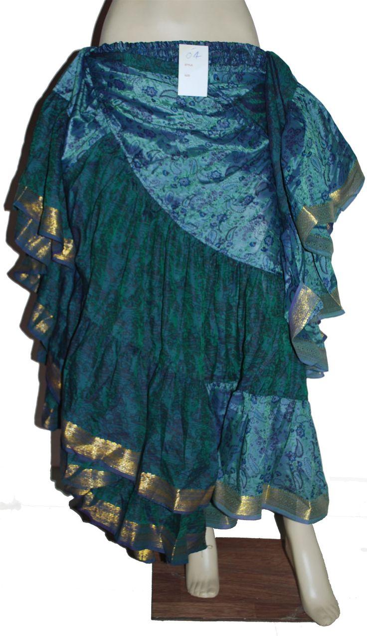 ジプシースカート jupe tribal
