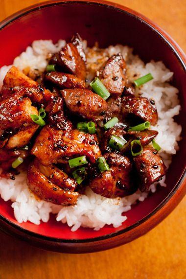 フライパンでテリテリに焼いた焼鳥丼♪ by siwatchさん   レシピブログ ... このレシピに関連するカテゴリ