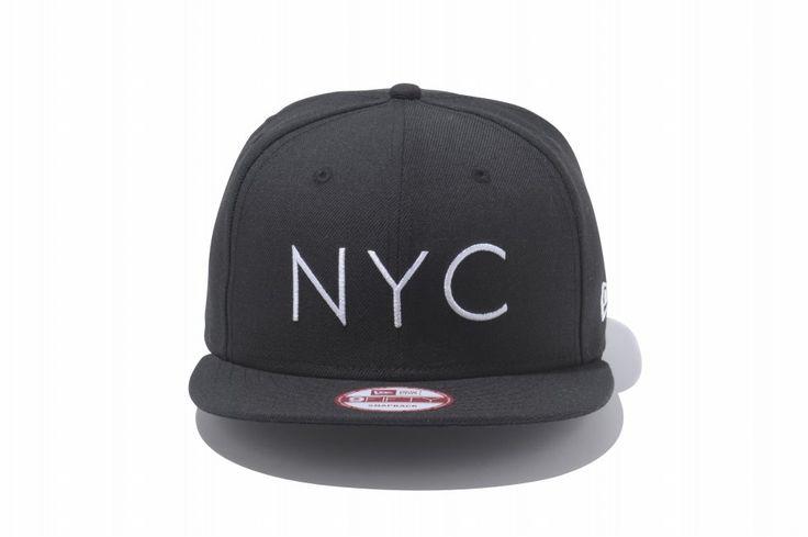 "@neweracaps Japan's minimal ""NYC"" snapback. ¥4,500 / $45"