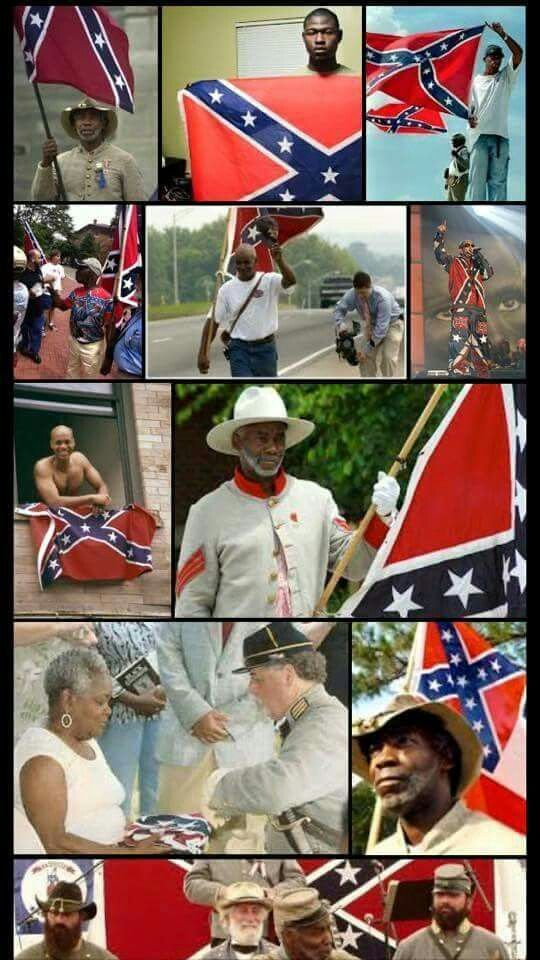 It was never about color, it's about Southern Pride!!! Of coarse there are some out there that make it something hateful but thats not the true meaning of this flag and think about it,lots of people take different things to represent what they want even if it's not the original meaning, take the rainbow for instance...