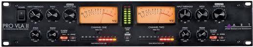 ART PRO VLA II Two Channel Vactrol/TubeLevelling Amplifier
