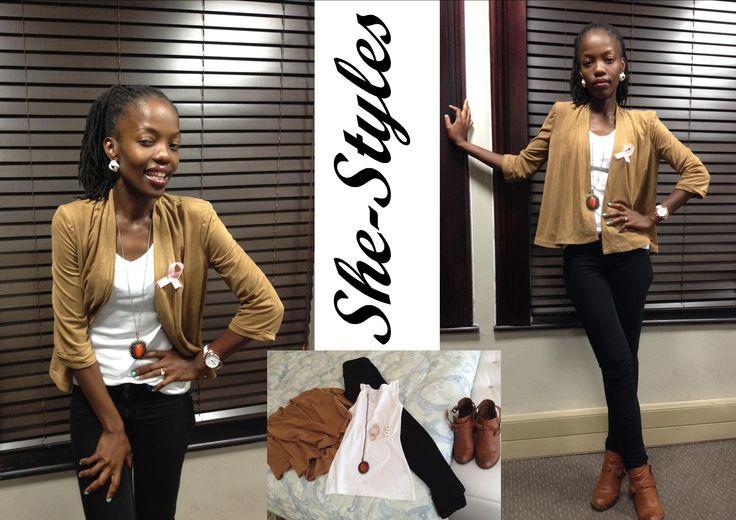 #Simplicity#Elegance#LessIsmore#SheStyles#SouthAfricanFashion