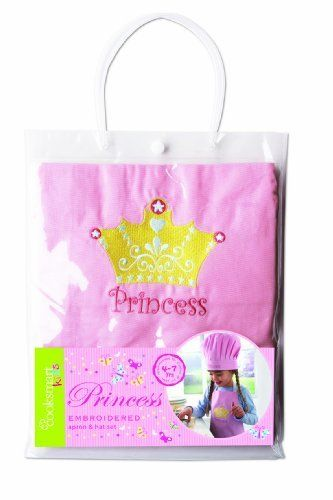 Cooksmart Princess Apron And Hat Set by City Look, http://www.amazon.co.uk/dp/B001CMSZQ6/ref=cm_sw_r_pi_dp_m1p.rb0H61Q8Y