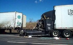 """Truckers First Safe Driving Rule  WHEN DRIVING, """"ALWAYS LOOK AHEAD AS FAR AS YOU CAN SEE"""""""