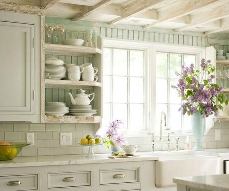 15 must see french cottage kitchens pins cottage kitchen inspiration cottage house and. Black Bedroom Furniture Sets. Home Design Ideas