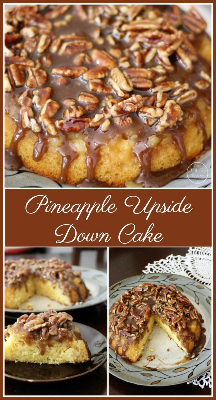 Pineapple upside down cake pineapple upside down