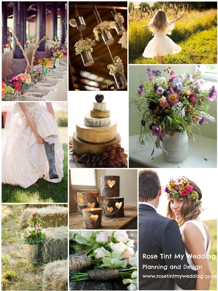 Rustic charm wedding inspiration. Need help with any aspects of wedding planning or styling? visit www.rosetintmywedding.co.uk. #rusticwedding