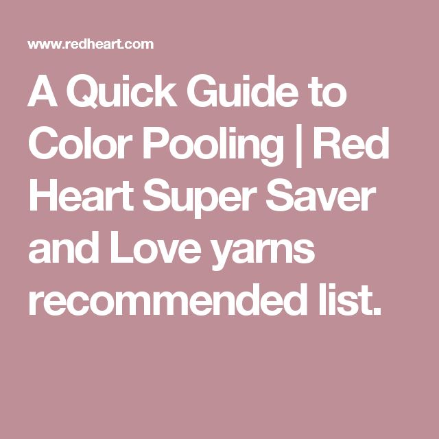 32 Best Yarn Color Pooling Images On Pinterest Pooling