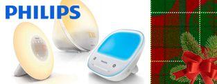 Gagnez un ensemble-cadeau Philips comprenant des lampes-réveil et une lampe de luminothérapie!