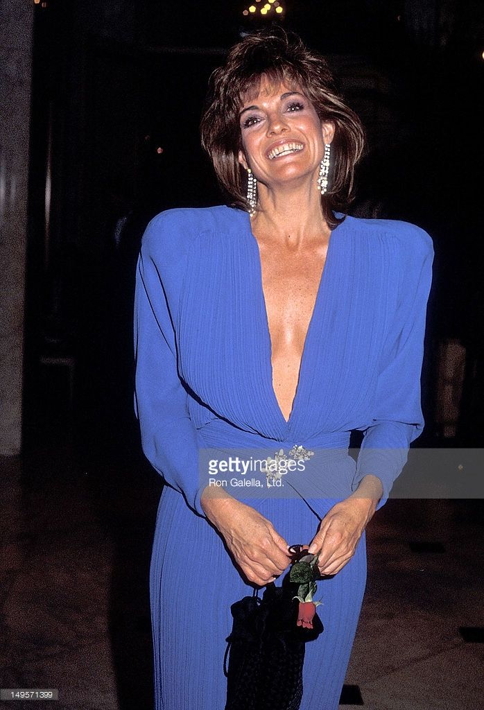 Actress Linda Gray attends the Los Angeles Free Clinic's 13th Annual Dinner/Roast Salute to B. Donald 'Bud' Grant on December 13, 1985 at the Beverly Wilshire Hotel in Beverly Hills, California.