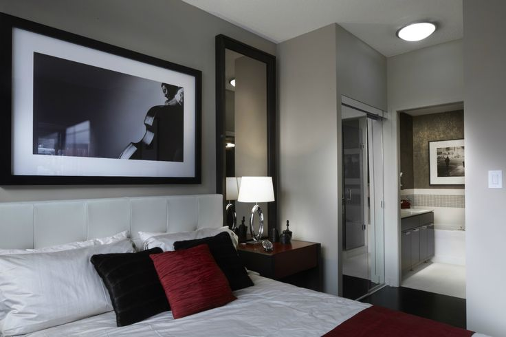 A second bedroom for friends to stay after a night on the town