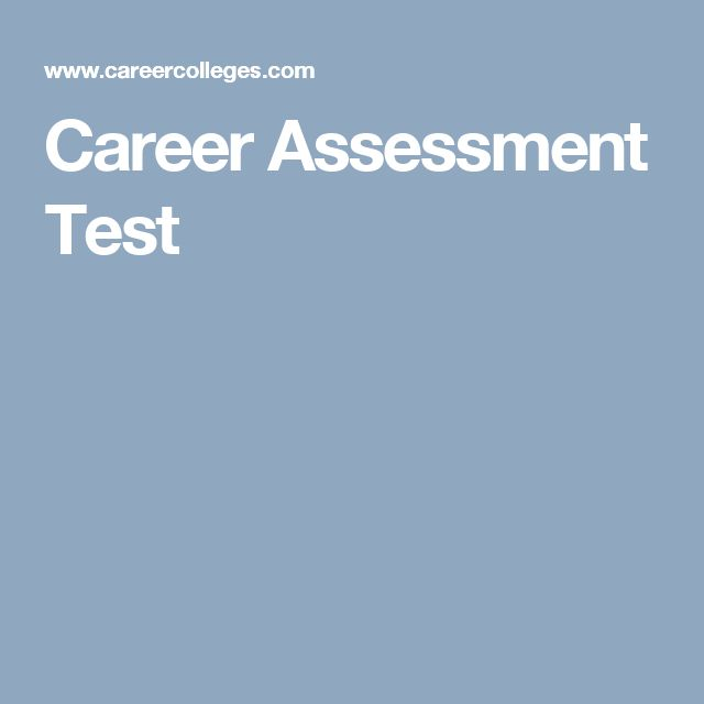 Best 25+ Career assessment ideas on Pinterest Career assessment - job test