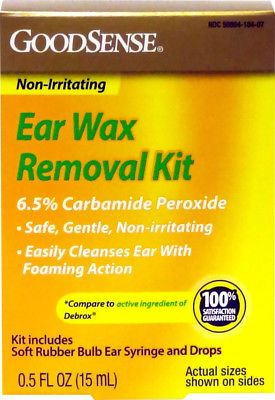 Ear Drops: Goodsenseandreg: Ear Wax Remover Kit 0.5 Oz. Andamp: Bulb Case Pack 12 -> BUY IT NOW ONLY: $75 on eBay!