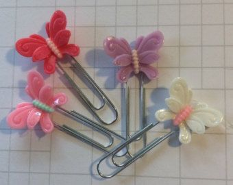Butterfly Planner Clips grab your favourite today at $2.99 each (at that price, dont forget to get an extra for a friend too!)  #plannersupplies#patternedpaper #scrapbooking #theresinrainbow #resincraftembellishments #plannerideas #scrapsupplies #scrapbooking #papercrafts #cardmaking #bookmark #plannerclip