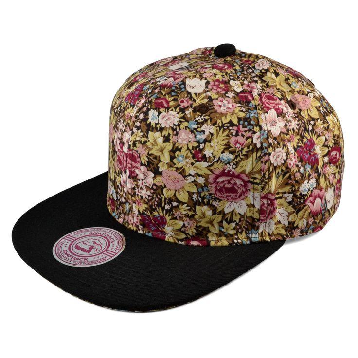 Wild Flower Snapback Cap - 249,00kr