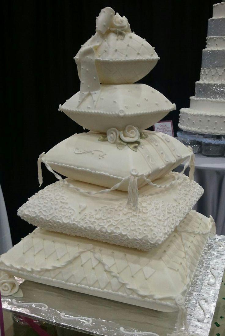 Pillow Wedding Cake fit for a Princess Bride!!!