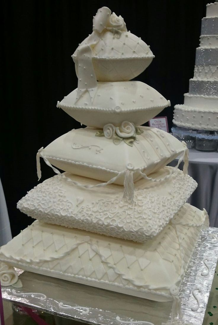 Pillow Wedding Cake fit for a Princess Bride!!!