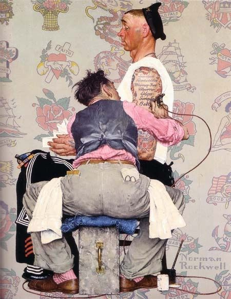 Latest Girlfriend by Norman Rockwell I seriously love this!!
