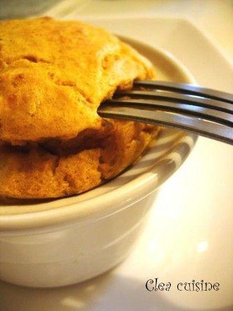 Soufflé au potimarron « diététiquement correct » | Clea Cuisine