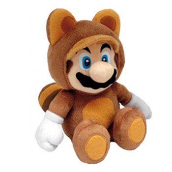 TANOOKI MARIO PLUSH Direttamente da Super Mario Bros 3, l'iconico Mario con il costume Tanooki, ritratto in un morbidissimo peluche da 32 cm. Materiali di qualità, licenza ufficiale Nintendo. - Maggiori dettagli: http://www.thegameshop.it/it/peluche/497-nintendo-tanooki-mario-plush-28-cm-3760116324977.html#sthash.mLxrdQ3Q.dpuf