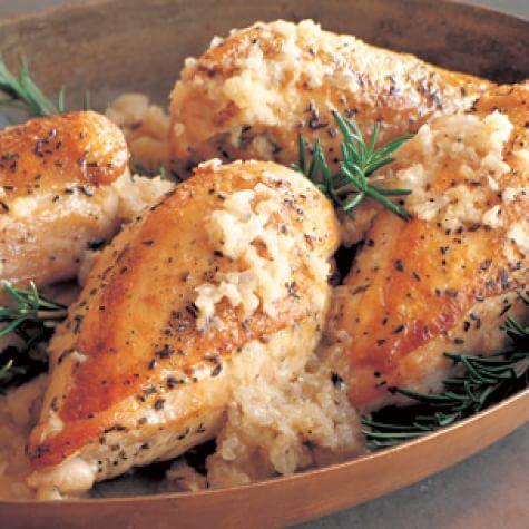 Baked Chicken with Vidalia Onion Sauce | Williams Sonoma