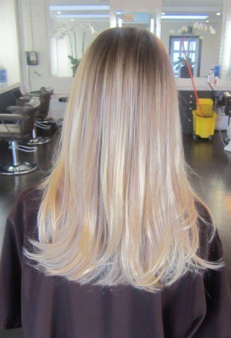 blonde hair subtle lavender highlights - Google Search