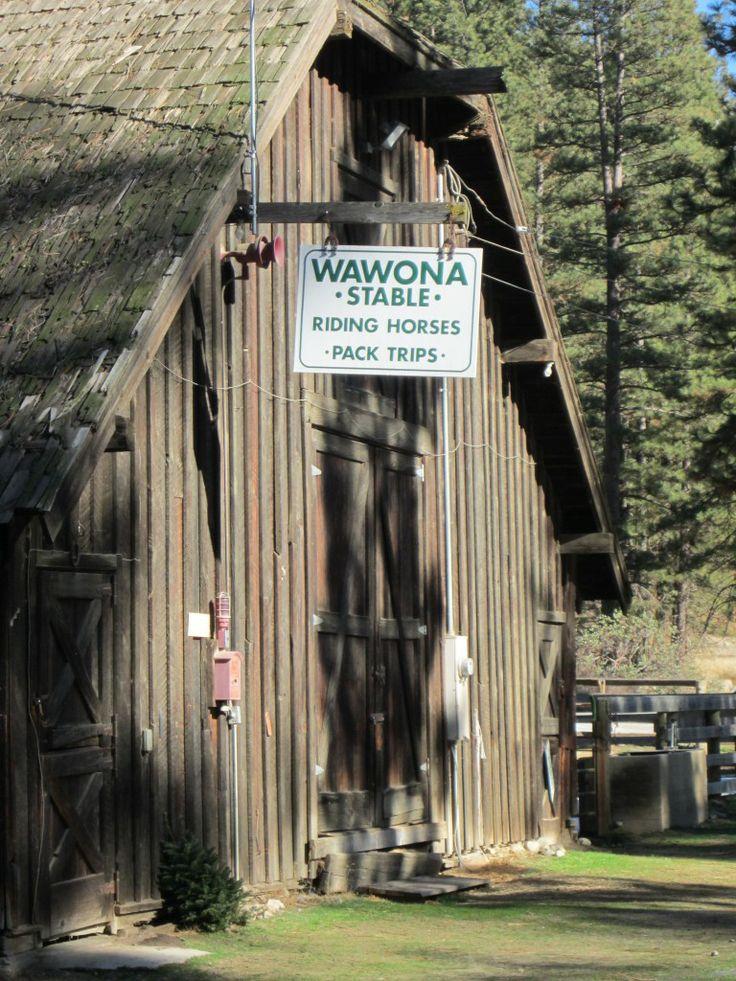 17 Best Images About Wawona Near South Gate Yosemite On