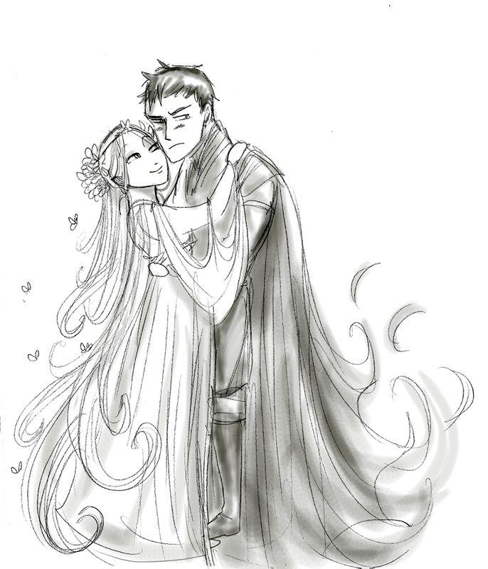 Bride and Groom, drawing / Sposa e Sposo, disegno - Art by Arbetta on deviantART