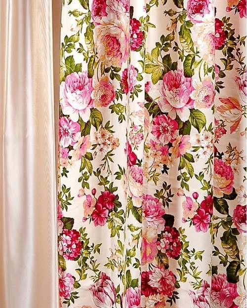 Perdele si draperii :: Draperii confectionate :: Draperie Romina roz