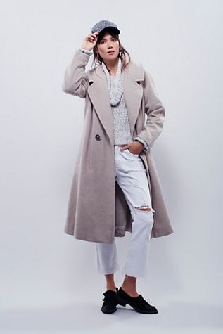 Free People Wool Overcoat at Free People Clothing Boutique