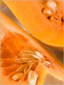 Fruit and Vegetable Database : Butternut Squash Nutrition, Storage, Selection, Preparation: Benefits to Health : Fruits And Veggies More Matters.org