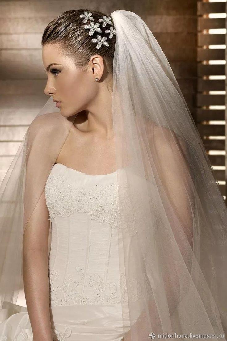 "Wedding Vale ""Princess"" - White, Bride, Vale"