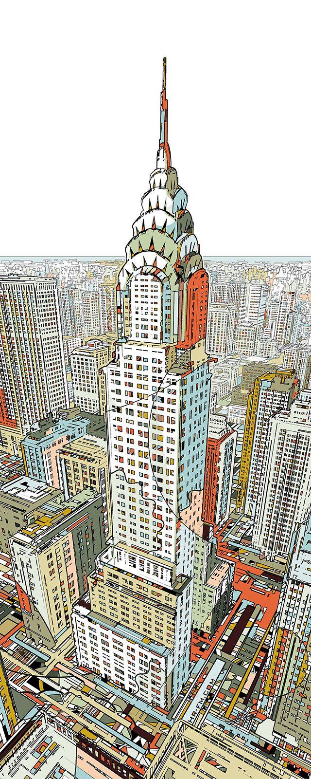 Manhattan by HR-FM http://www.eyesonwalls.com/products/manhattan
