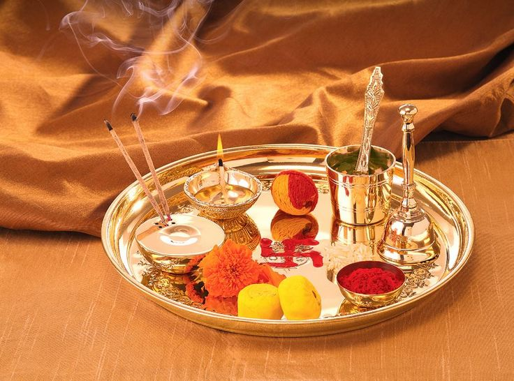 17 best images about pooja room on pinterest deities for Aarti thali decoration with rice