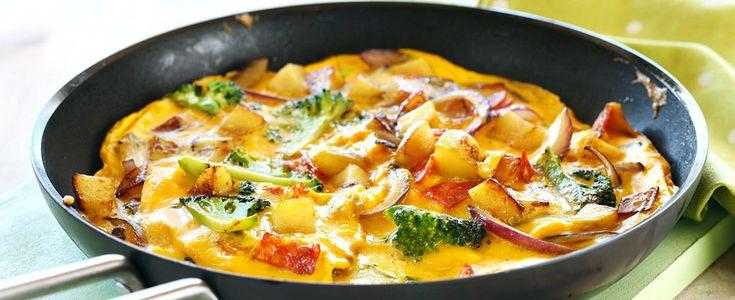 Dagens oppskrift på spansk omelett er både lettlaget og knakende god.