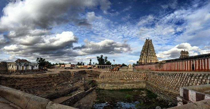Virupaksha Temple, Hampi !  #India #incredibleindia. Atulya Bharat !!