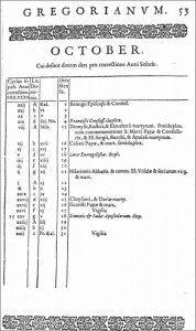 Il y a 430 ans était promulgué le calendrier grégorien, qui rythme encore aujourd'hui nos jours et nos mois. Tranche d'histoire.