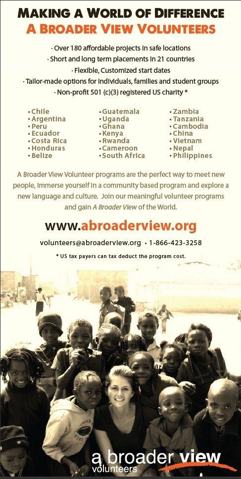 Volunteer Language Programs