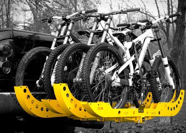 Pricey, but that's how you make a bike rack. | Tuf Rack Indestructible Bike Rack $380