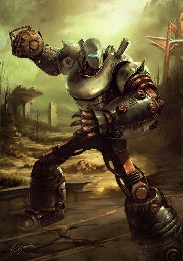 Fallout Liberty Prime   #fallout  #kurttasche