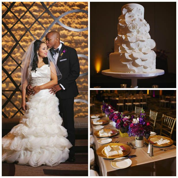 Jewel Toned Wedding at the Omni Nashville Hotel (Justin Wright Photography)