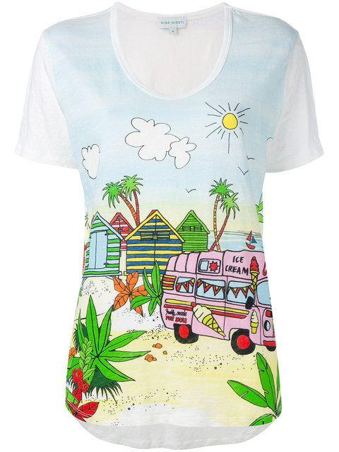 MIRA MIKATI Floral T-Shirt. #miramikati #cloth #t-shirt