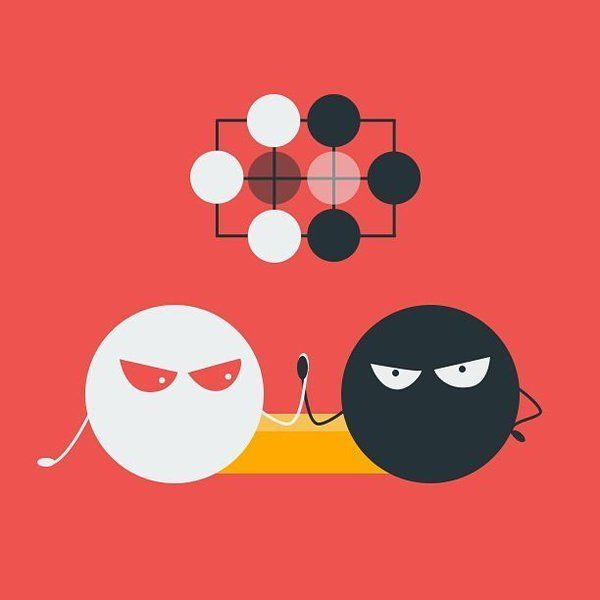 It's ko-fight! #gogame #baduk #weiqi