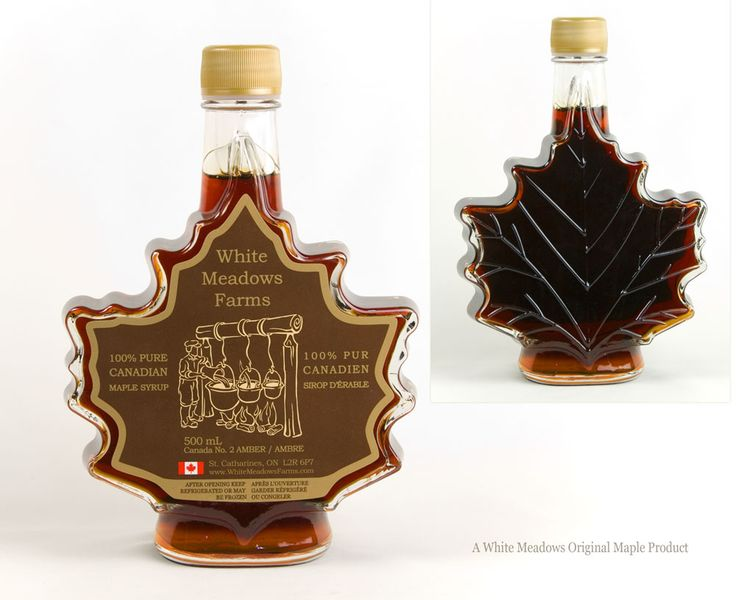 500ml Leaf #Maple Syrup Amber Grade $15.25
